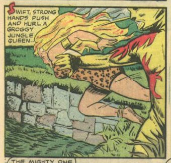 from Sheena, Queen of the Jungle 11 (Spring 1951): 9.