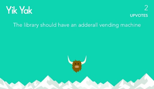 Following the Yik Yak: Using Social Media Observations to