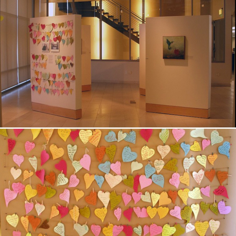 Wounded Hearts exhibit